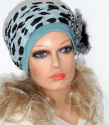 NEU Design Long Beanie Chemo Mütze Damenmütze Turban Chemomütze ...
