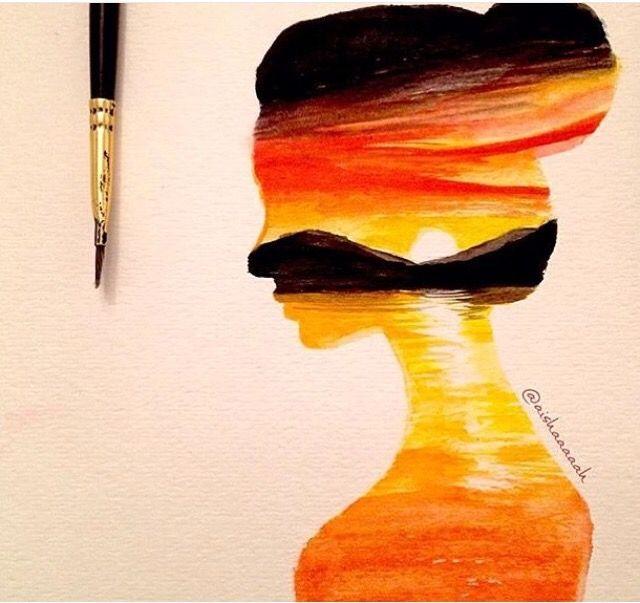 Double Exposure Via Arts Display On Instagram In 2019