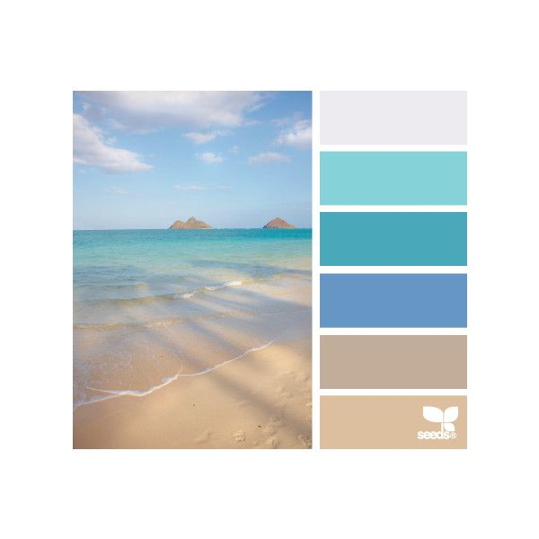 Mental Vacation Liked On Polyvore Featuring Design Seeds Color