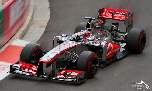 Formula one Monaco 2013 Jenson Button McLaren
