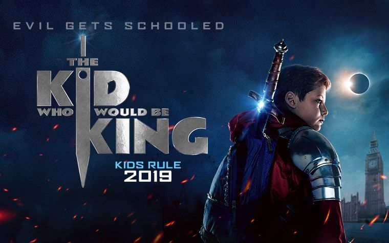 Trailer The Kid Who Would Be King Entertainment Pinterest