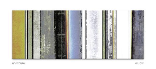 Cores - long canvas art by www.pixel-prints.com