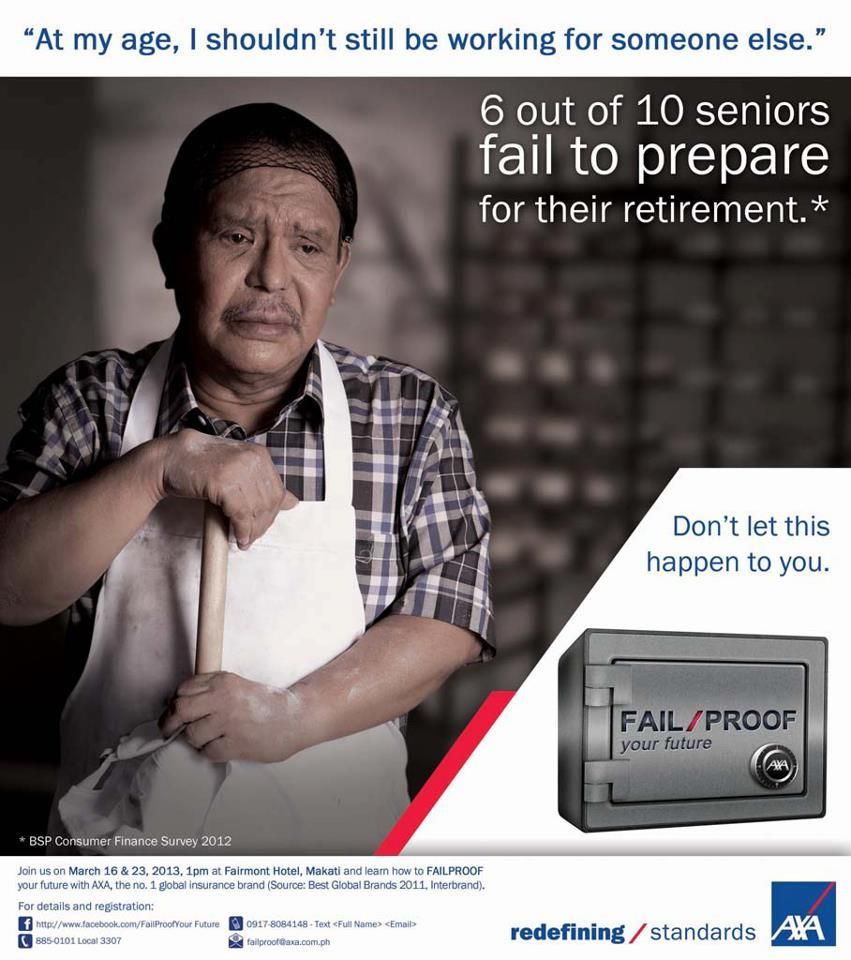 Have You Planned For Your Retirement Needs Axa Life Insurance