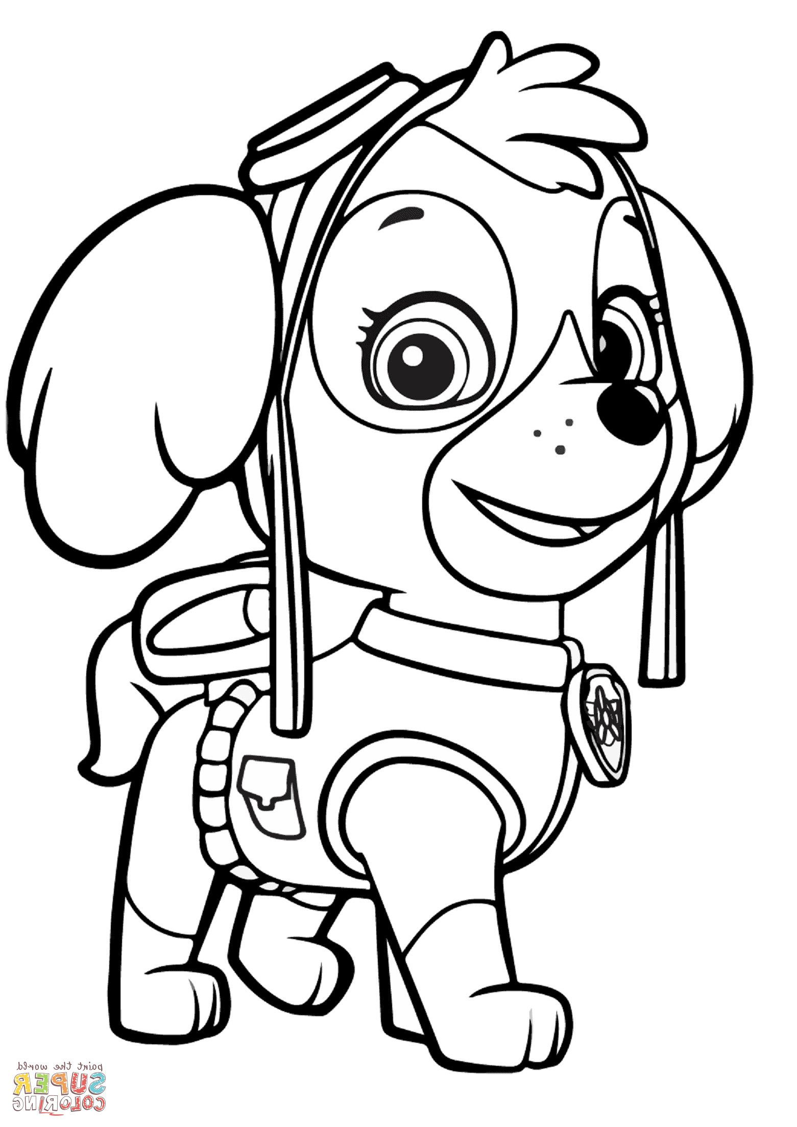 Paw Patrol Skye Coloring Page Youngandtae Com Paw Patrol Coloring Pages Paw Patrol Coloring Nick Jr Coloring Pages