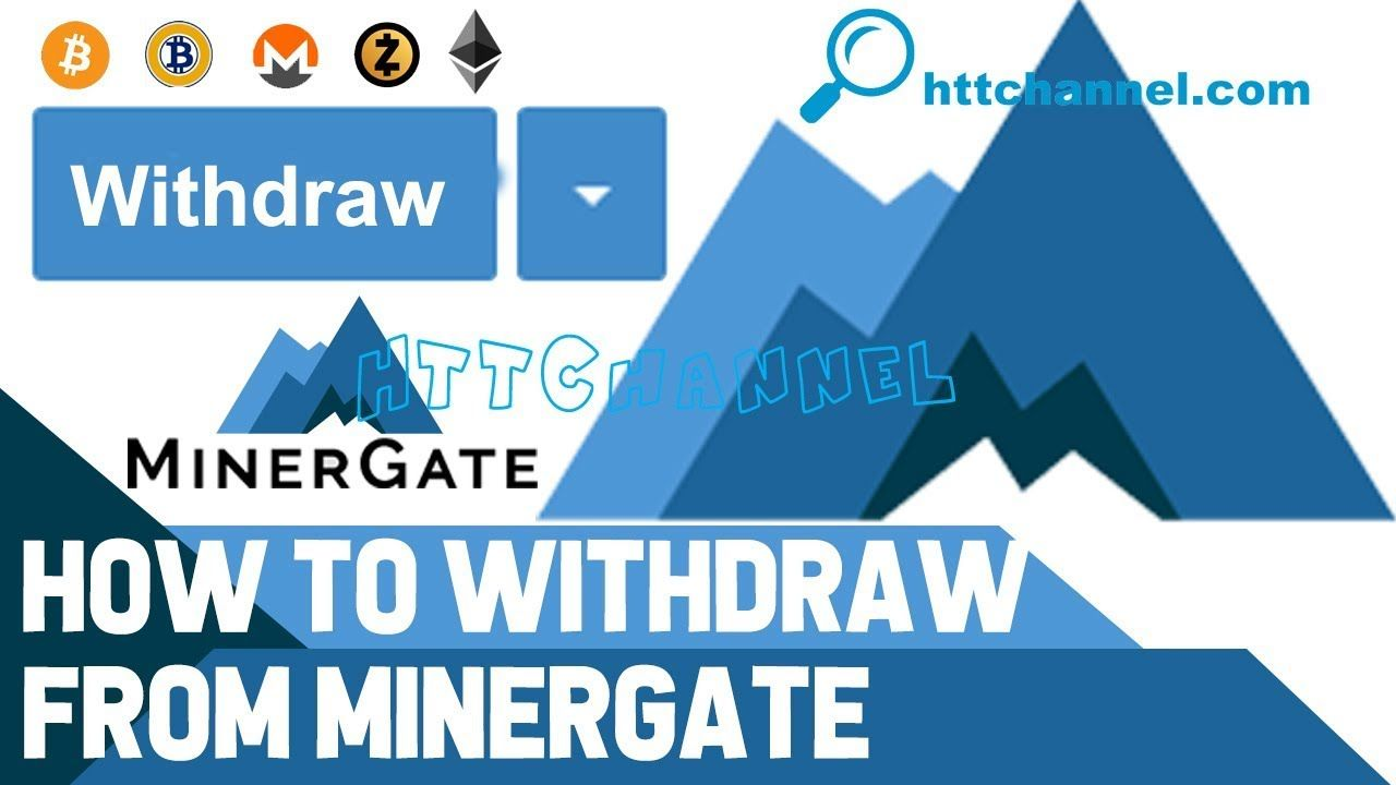 How to withdraw money from minergate money