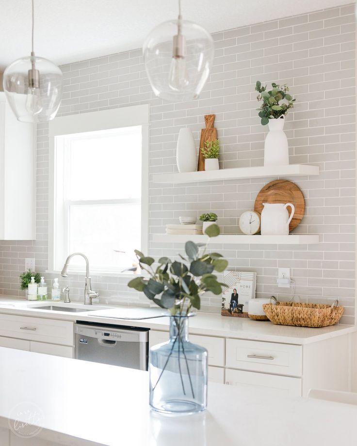 Our White & Gray Kitchen | La La Lisette