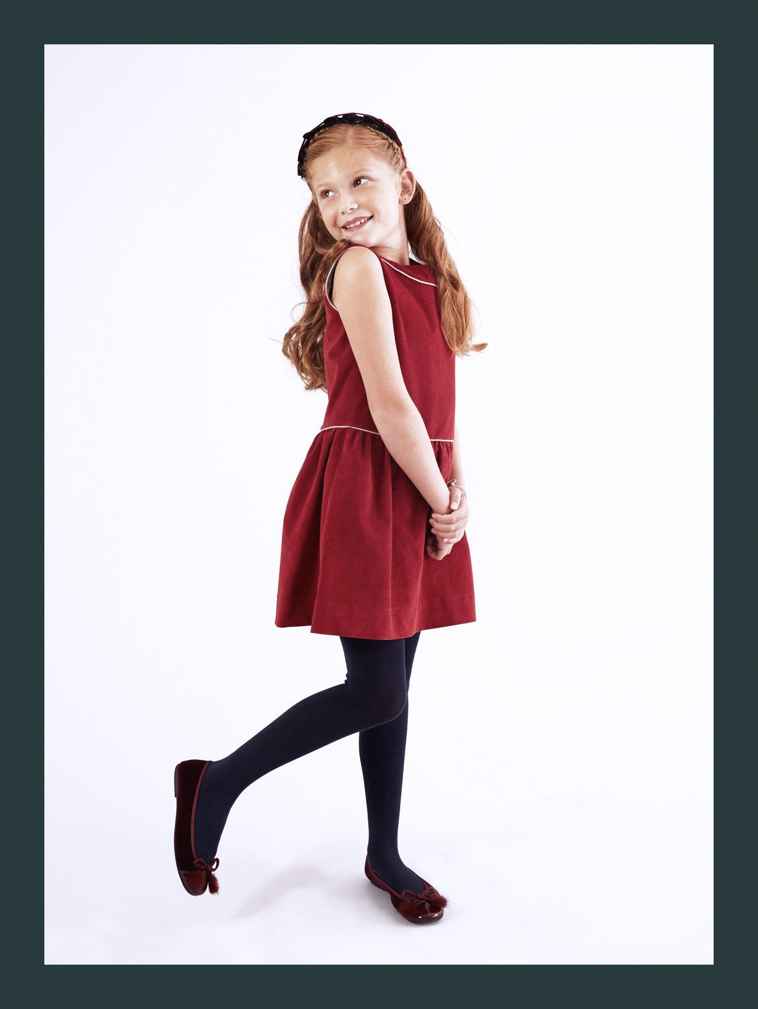 3d308c50f Pre-Teen Burgundy Party Dress