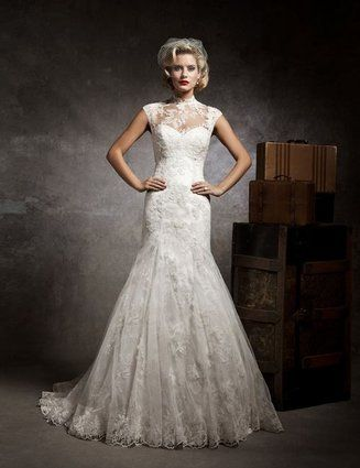 Strapless Sweetheart Mermaid Wedding Dress Get it at CA Dresses.$385.24