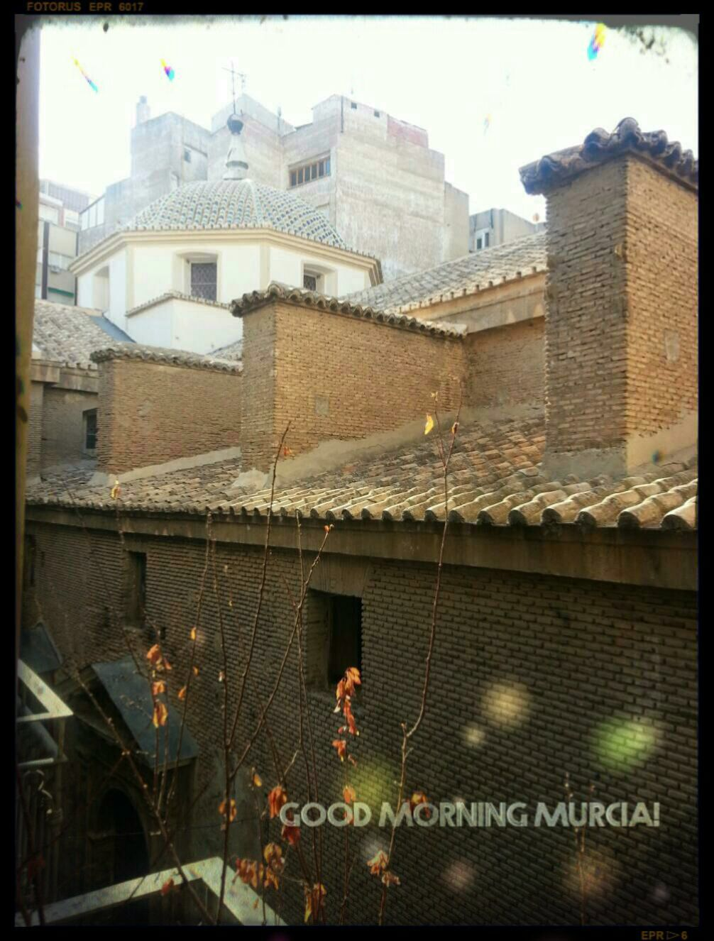 Enjoying the view from my sister 39 s place window when i wake up an 18th century jewel iglesia - Electricistas en murcia ...