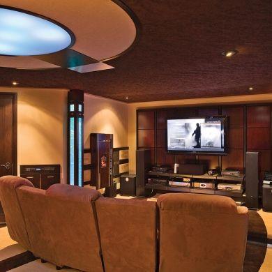 en son et lumi re salon inspirations cin ma maison d coration et r novation pratico. Black Bedroom Furniture Sets. Home Design Ideas