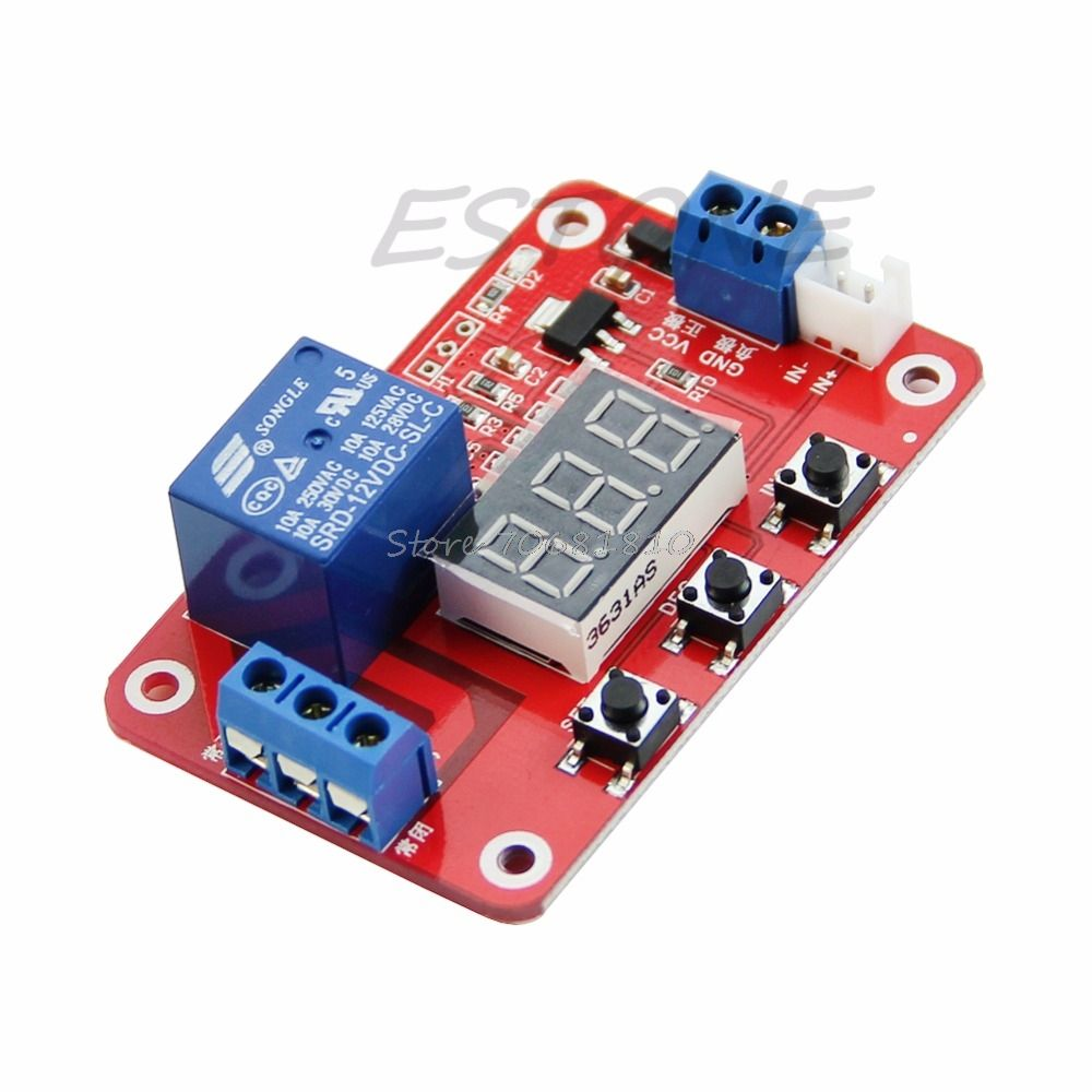 Dc 12v Relay Switch Control 20 To100 Degree Digital Temperature Micro Spdt Amp Display Module Sensor R179