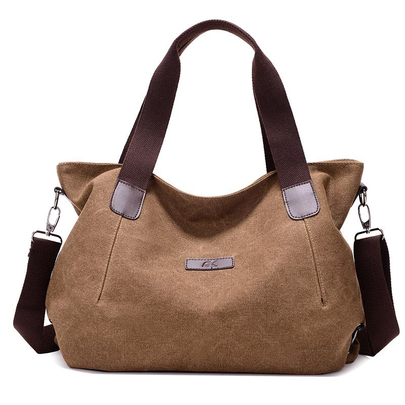 d3d8b98dcd89 Women Large Capacity Canvas Shoulder Bags Handbags Casual Crossbody Bags