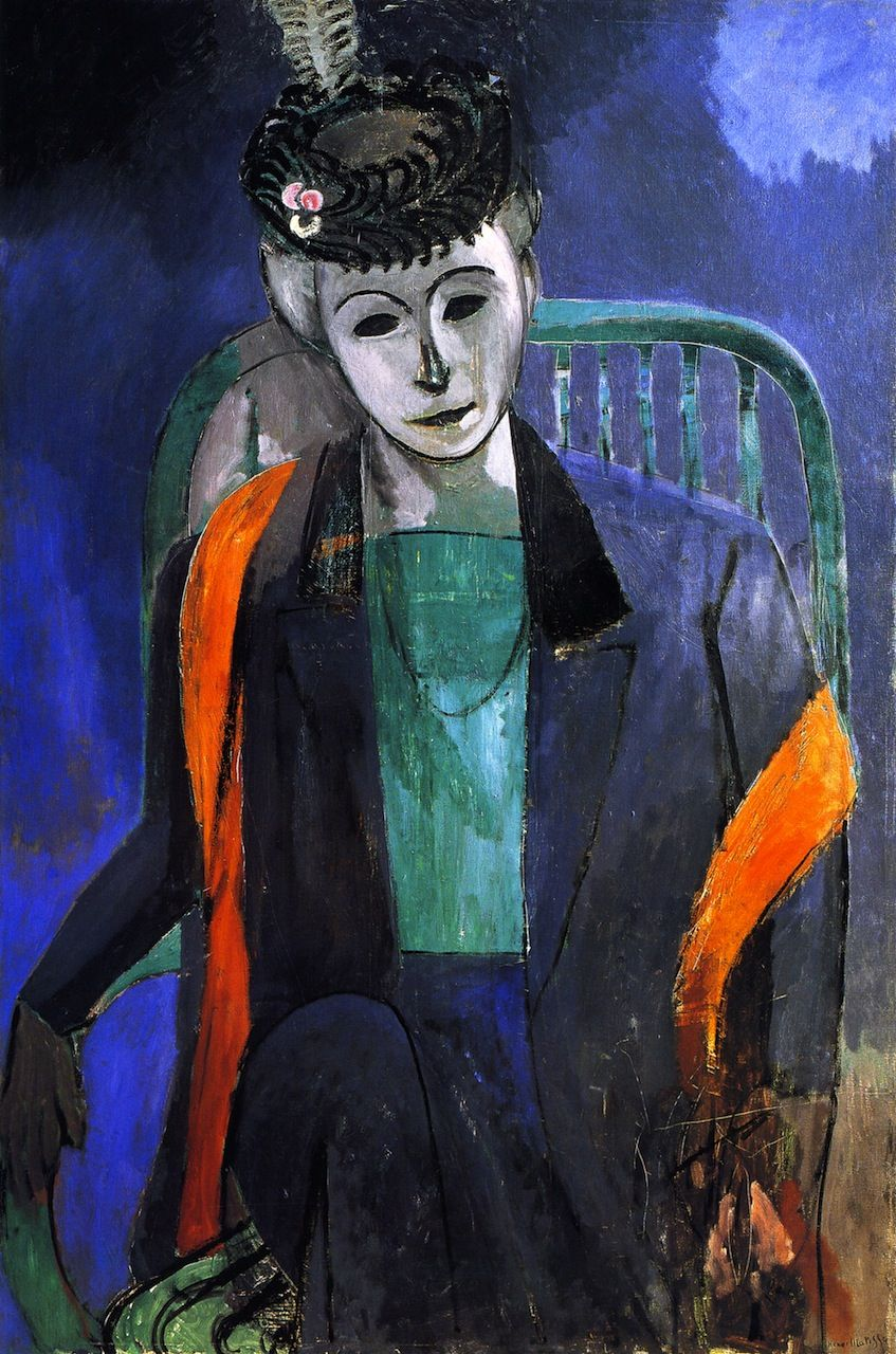 Henri Matisse Portrait Of The Artist S Wife Madame