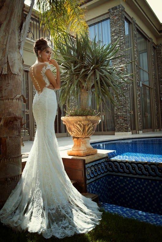 Frühjahr/Sommer Brautkleider Trends | Mode Germany | Pinterest ...