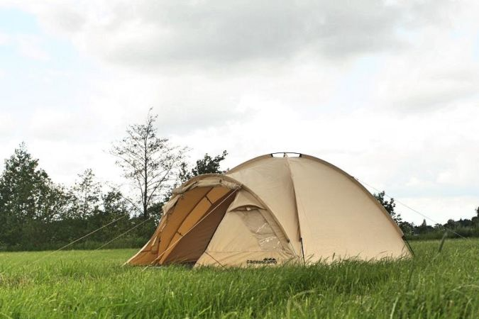 What can the Dome tents be