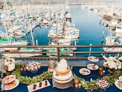 Beachfront Weddings At Santa Barbara Maritime Museum California Wedding Venues 1