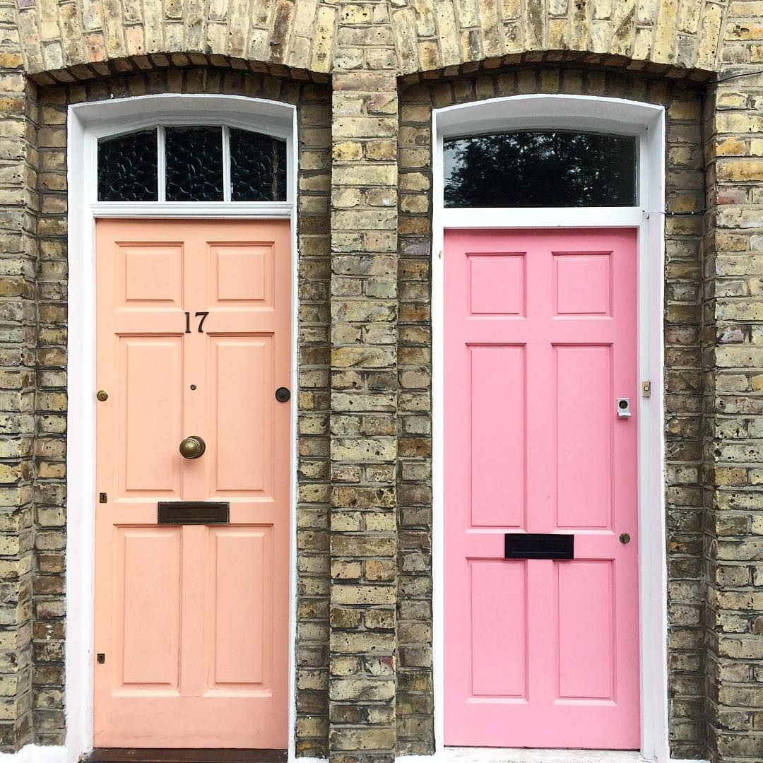 Pink Doors London Katie Armour Taylor The Neo Trad Doors Home Decor Shops Columbia Road Flower Market