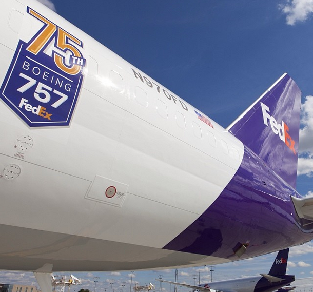 A Special Logo On Our 75th Boeing 757 What A Beauty Aviation