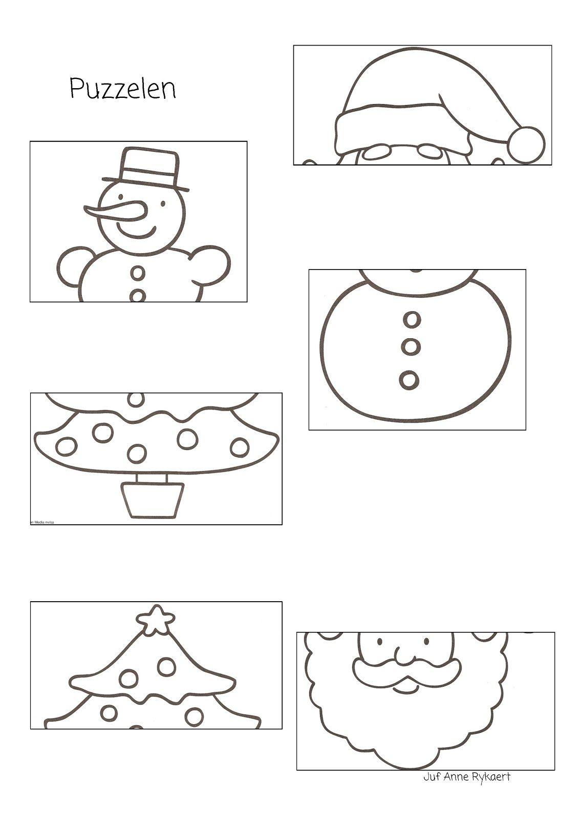 Peuterthema\'s: Kerst | šablony | Pinterest | Weihnachten ...