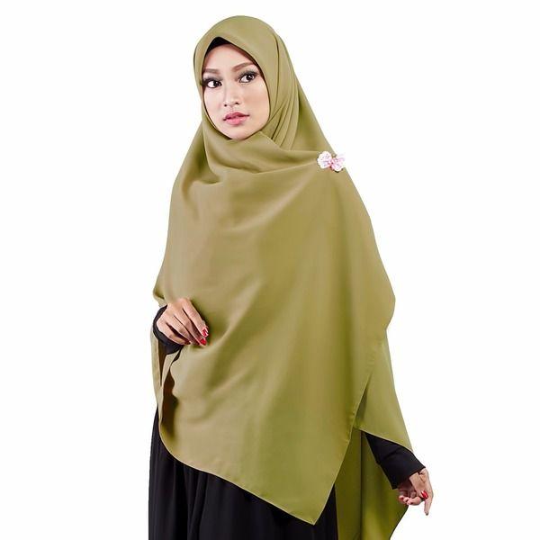 Warna Jilbab Untuk Baju Hijau Lumut