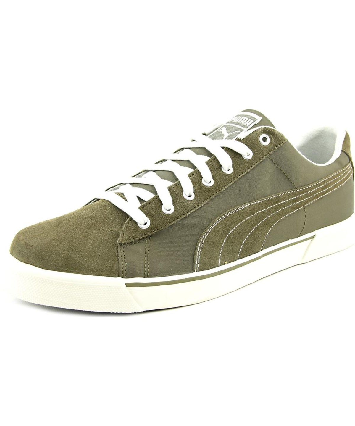 PUMA Puma Benny Breaker Men Round Toe Suede Green Sneakers .  puma  shoes   sneakers 3c6a1ee862a6