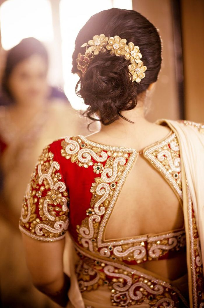 indian wedding hairstyles short