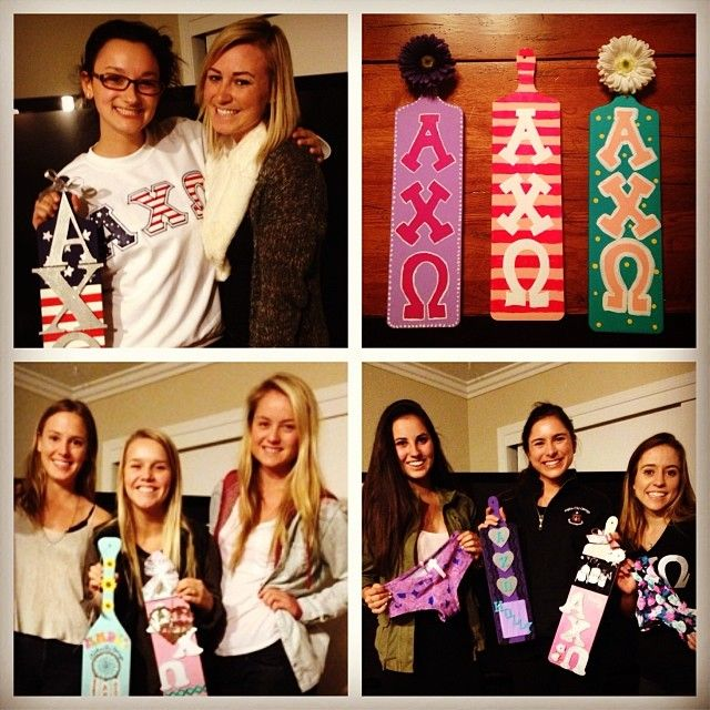 AXO Cal Poly Big/Little Paddles