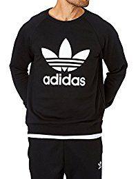 adidas Herren Trefoil Crew Sweatshirt | modern clothing