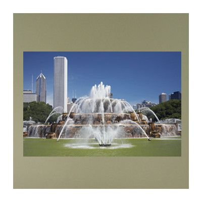 Wallhogs Chicago Fountains Poster Wall Mural