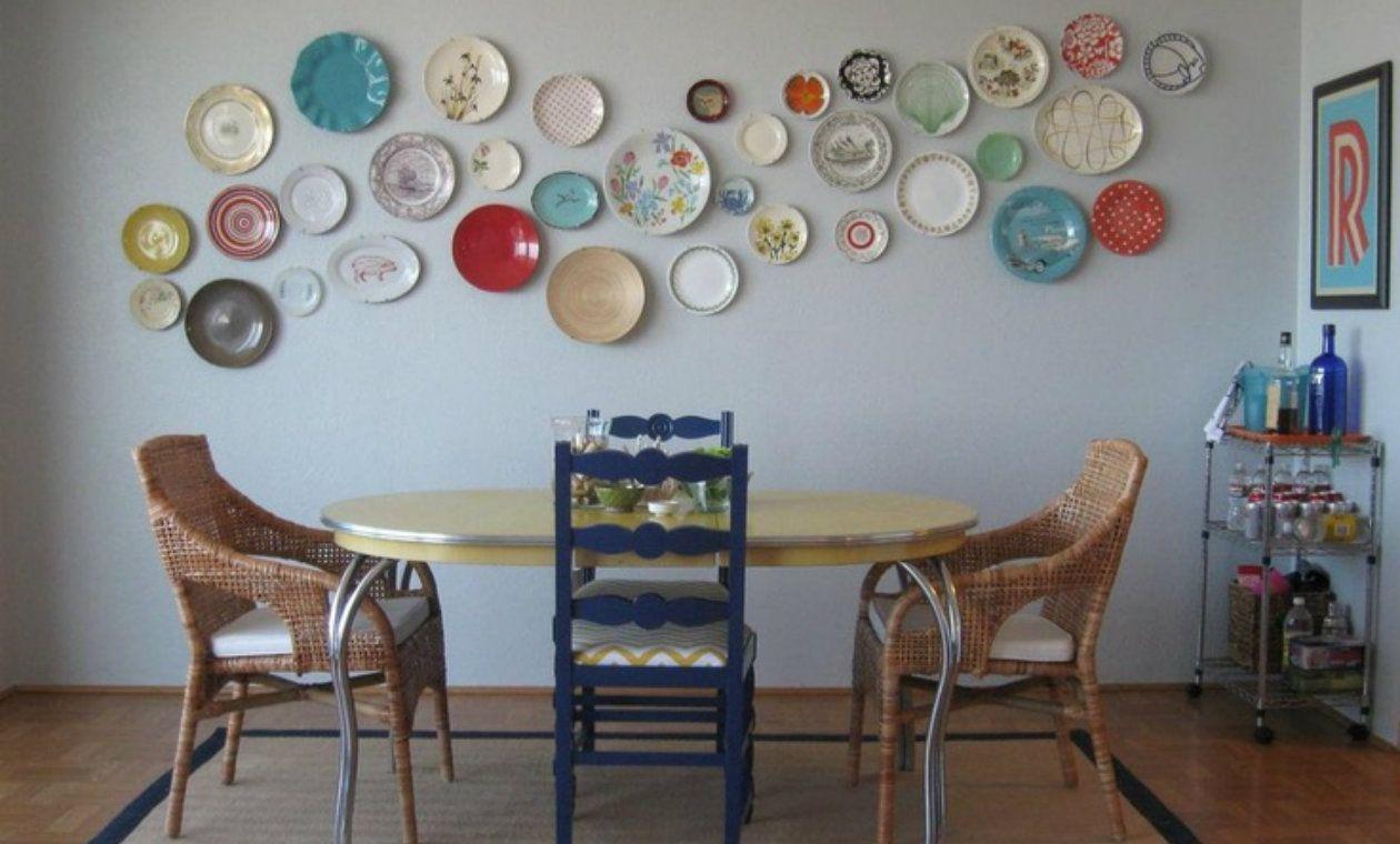 15 formas originales de decorar con platos | Cabin, Decorating and ...