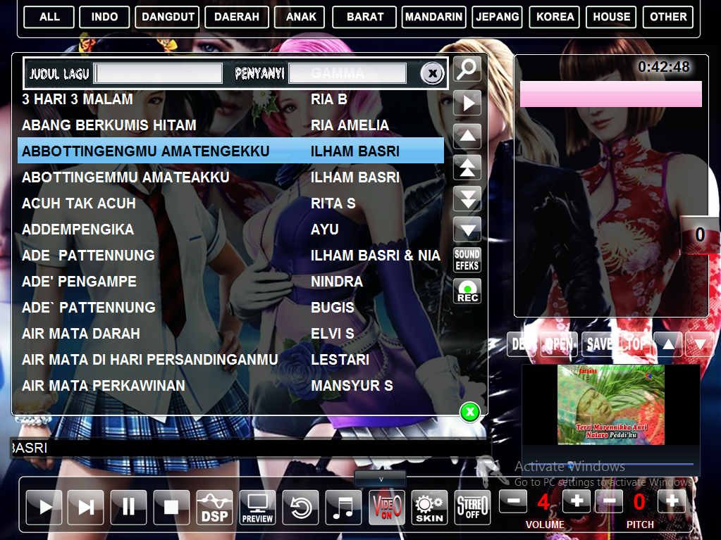 Software Karaoke Full Version X Karaoke 8 Serial Lagu Penyanyi Jepang