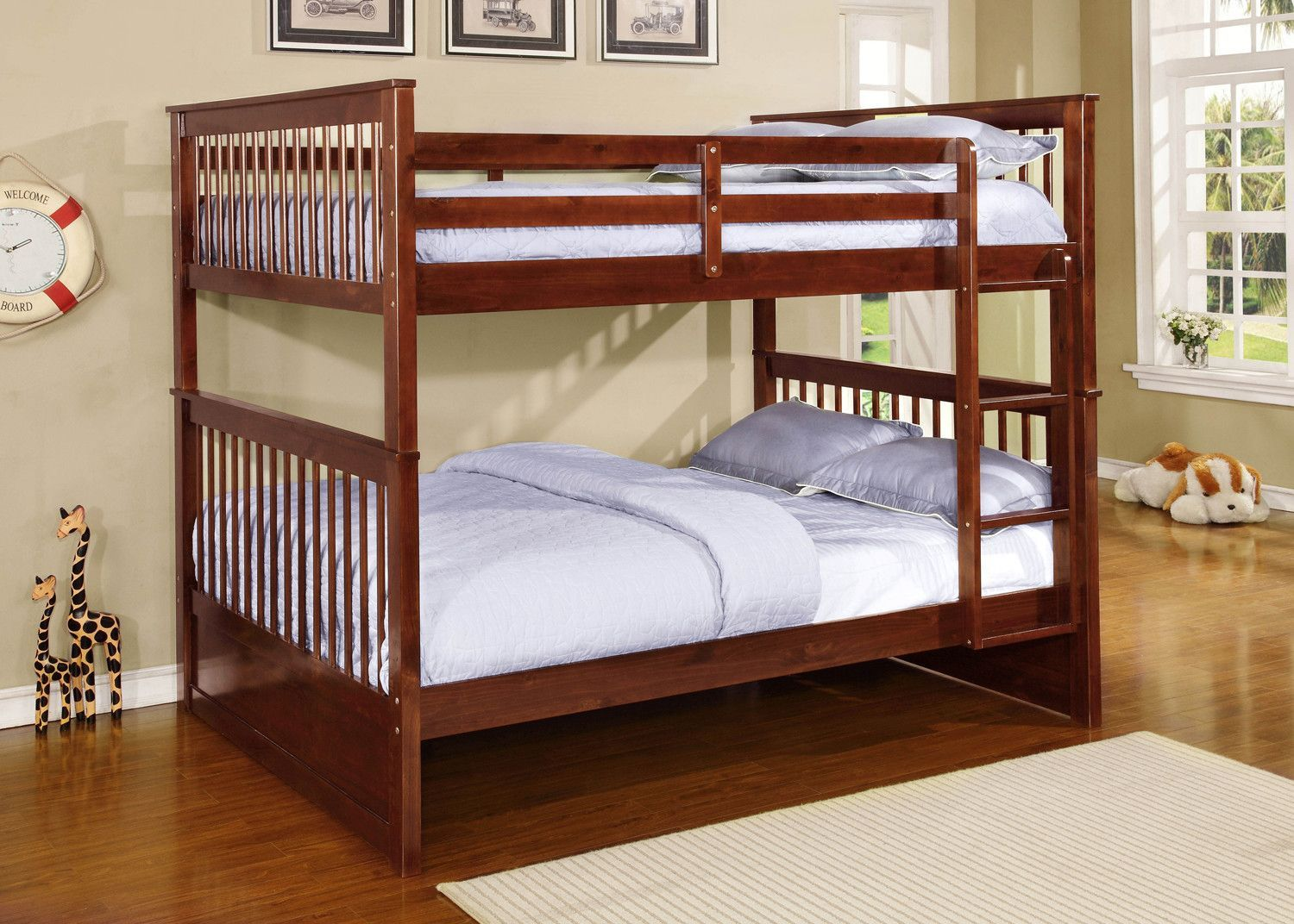 Otis Full Over Full Bunk Bed Bunk Bed With Trundle Bunk Beds