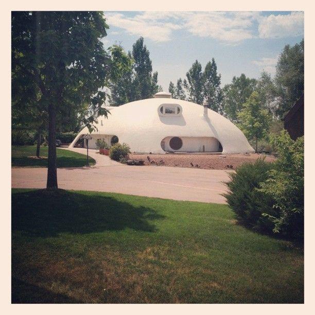 Hurricane Proof Dome Home: Cameo Estates #architecture #House