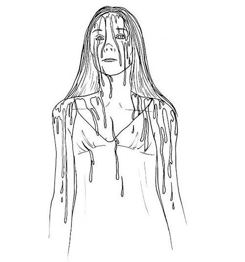 Image Result For Scary Horror Coloring Pages Scary Coloring Pages Halloween Coloring Pages Halloween Coloring