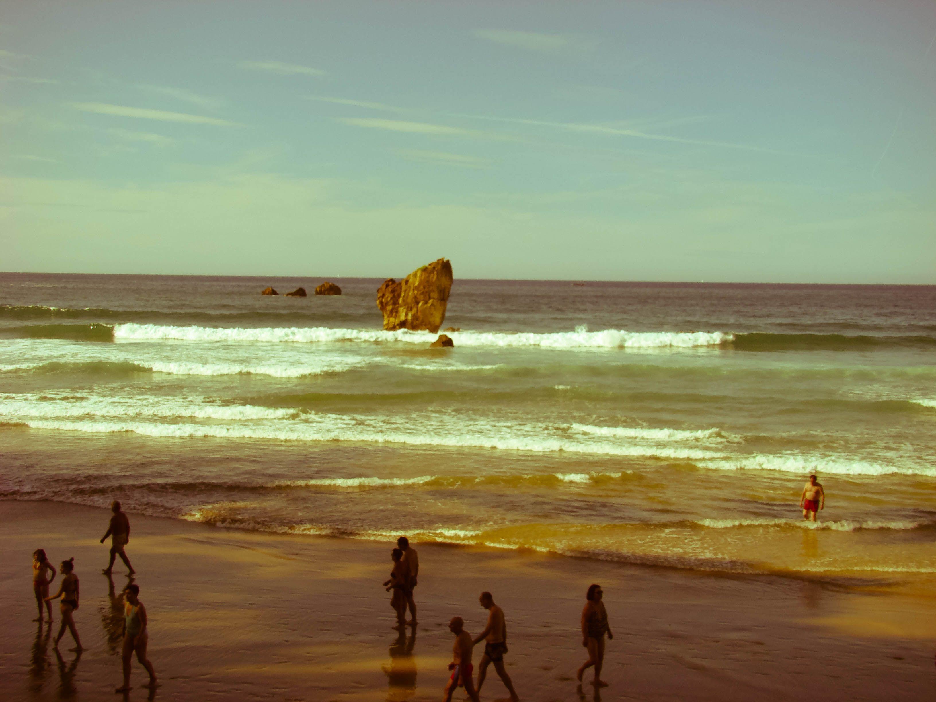 Playa de Aguilar Asturias