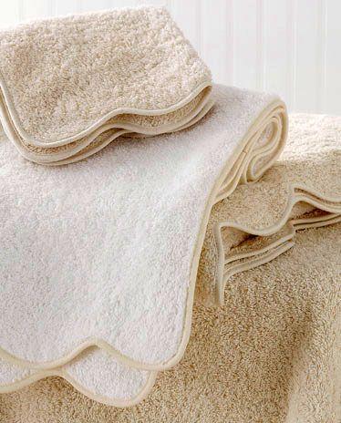 towel-matouk-cairoscallop-b.jpg (374×464) | Monogrammed ...