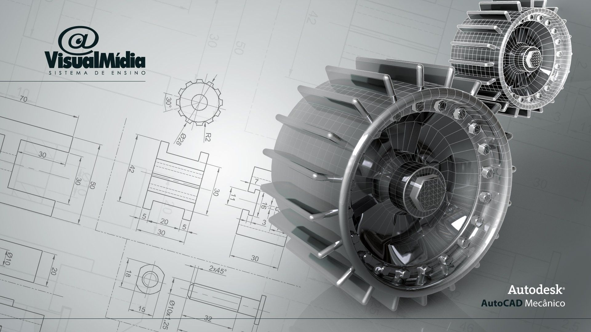 1920x1080 Free Hd Engineering Wallpapers For Download Mechanical Design Drawing Wallpaper Technical Drawing