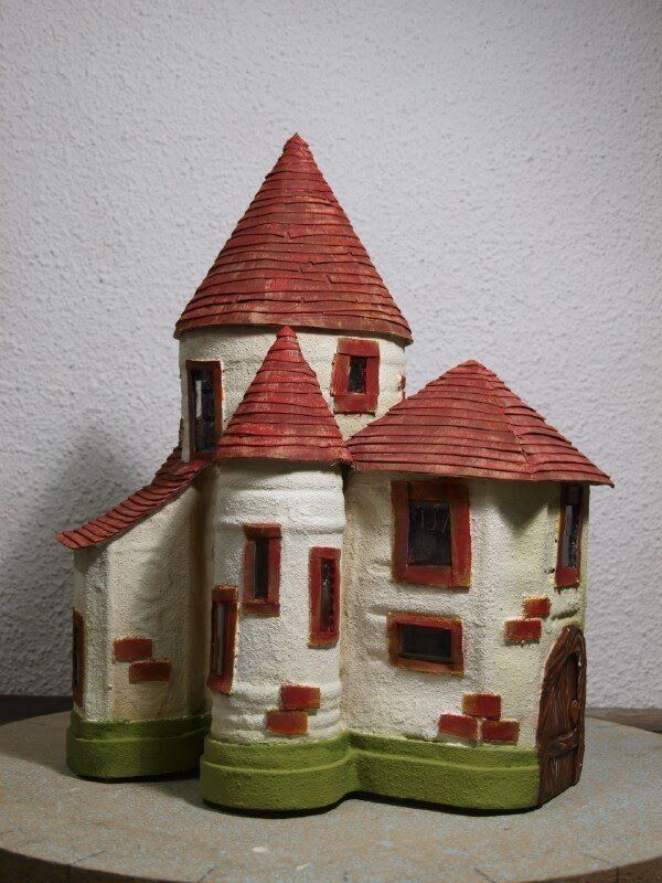 Finished Fairy Castle How to Make a