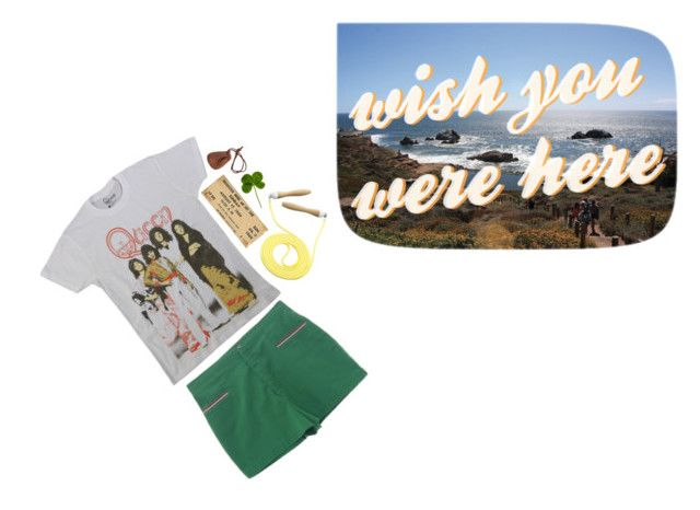 """""""wish you were here"""" by lonelylilac ❤ liked on Polyvore featuring KEEP ME, Sweaty Betty and vintage"""