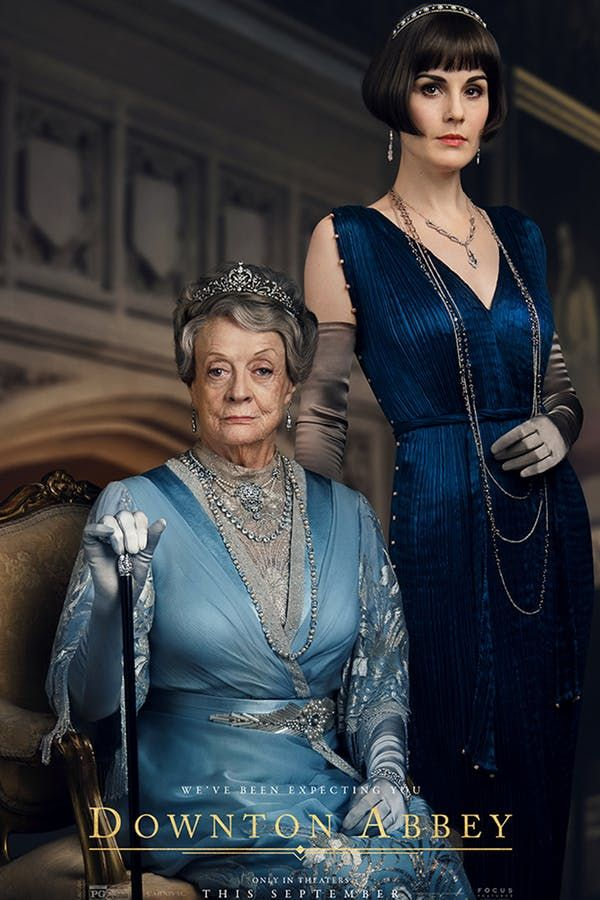 9 'Downton Abbey' Movie Posters Just Dropped & Lady Mary's Bob Is on Point