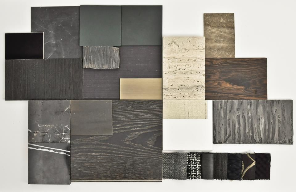 Material mood board see more inspirations at http www for Interior design with waste material