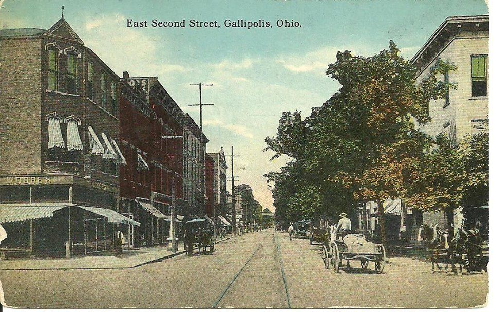 1914 Gallipolis With Images Gallipolis Ohio Ohio History Ohio