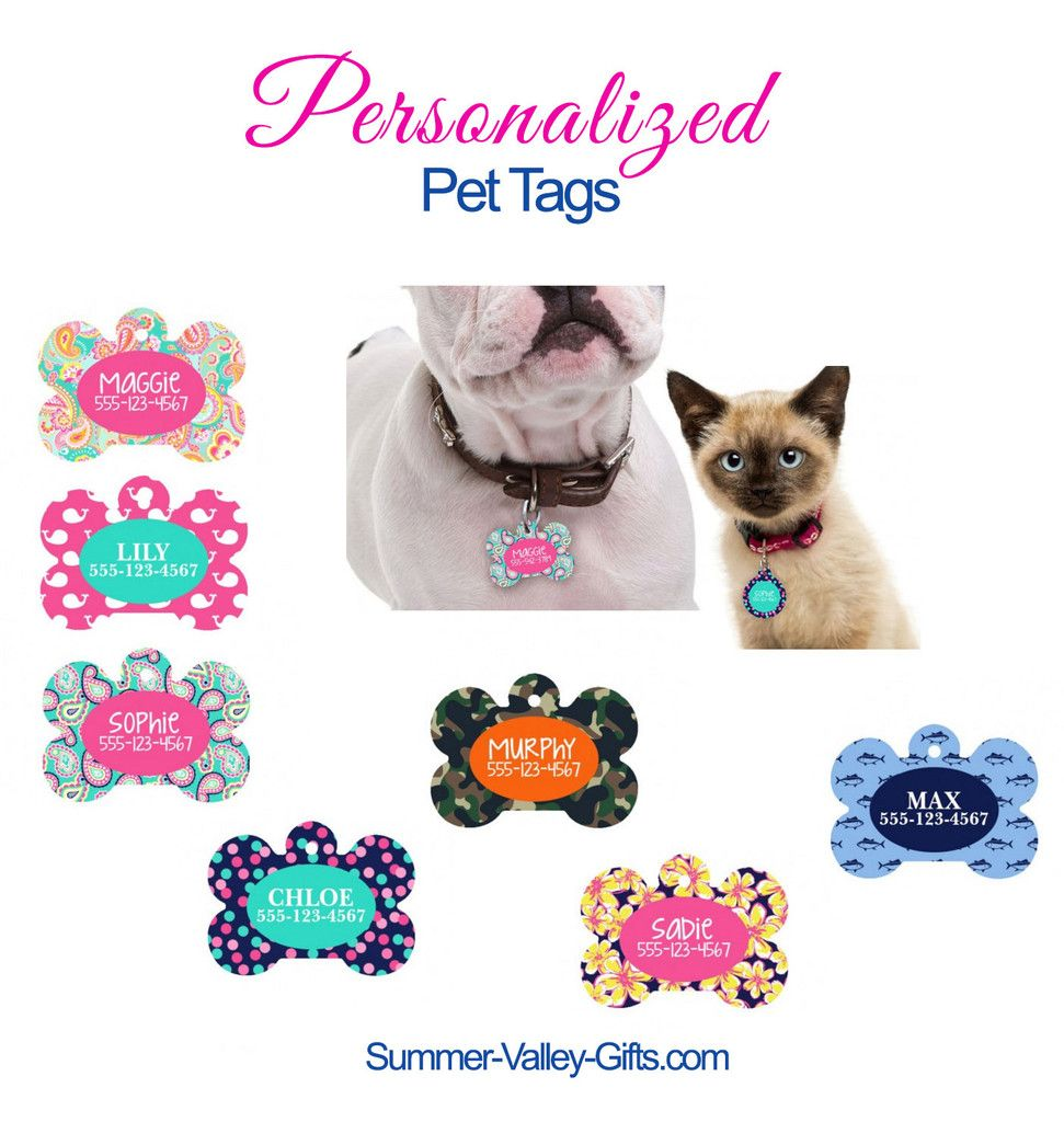 Pet Tags Personalized, Personalized