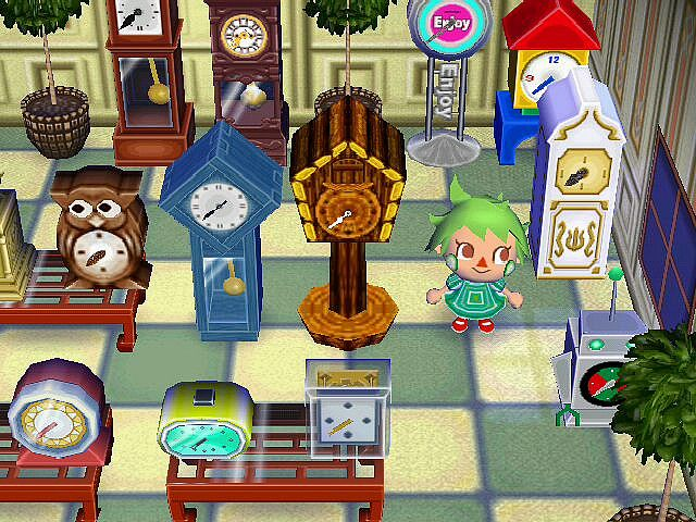 Animal Crossing City Folk Furniture List