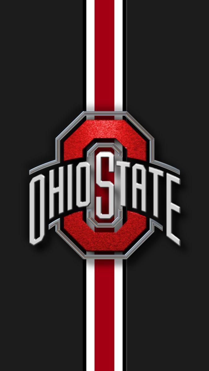 Ohio State Football Logo Graphics Phone Wallpaper In 2020 Ohio State Wallpaper Ohio State Buckeyes Football Team Wallpaper