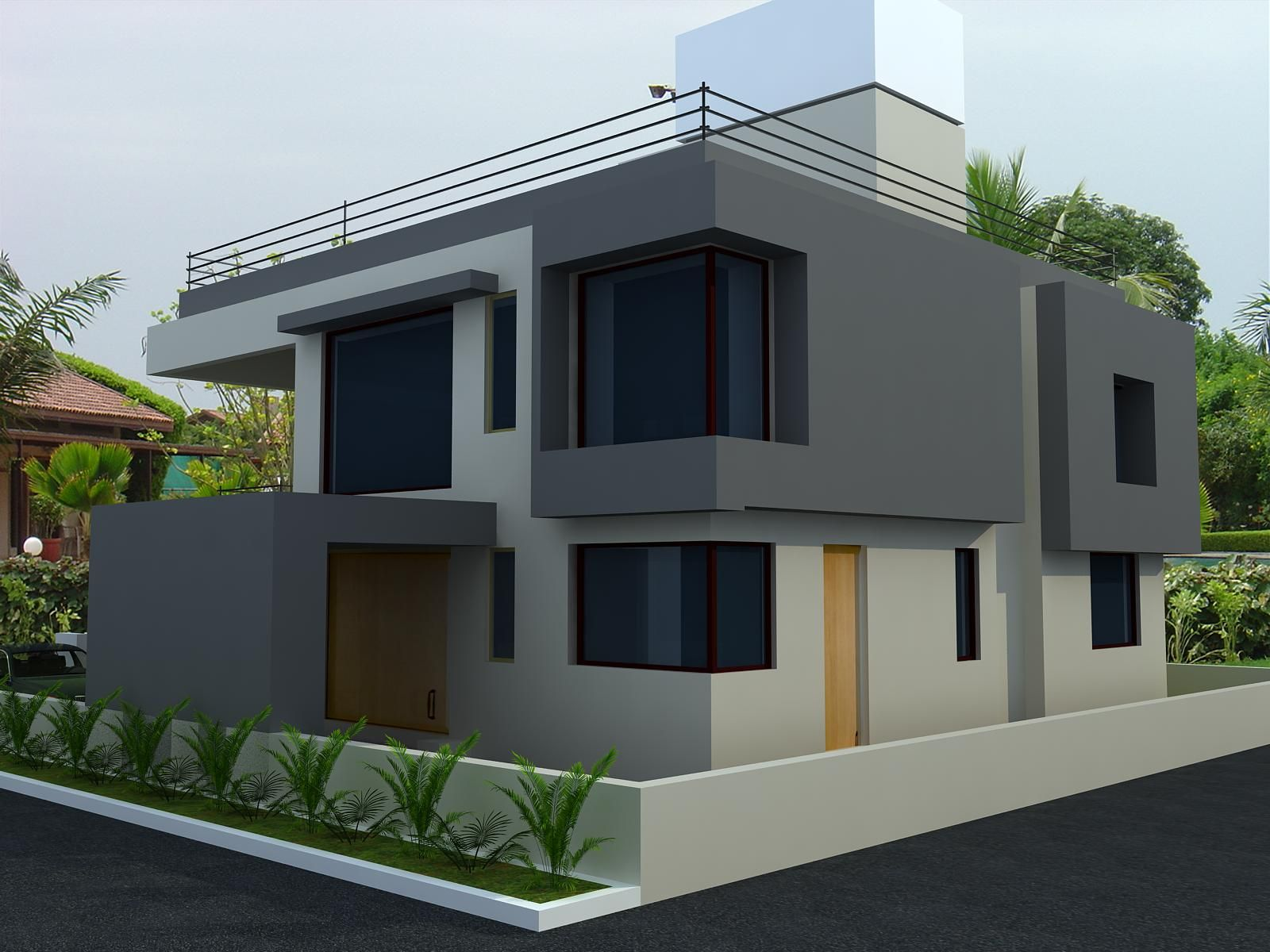 Architectural 3d model architectural 3d rendering for Exterior 3d model
