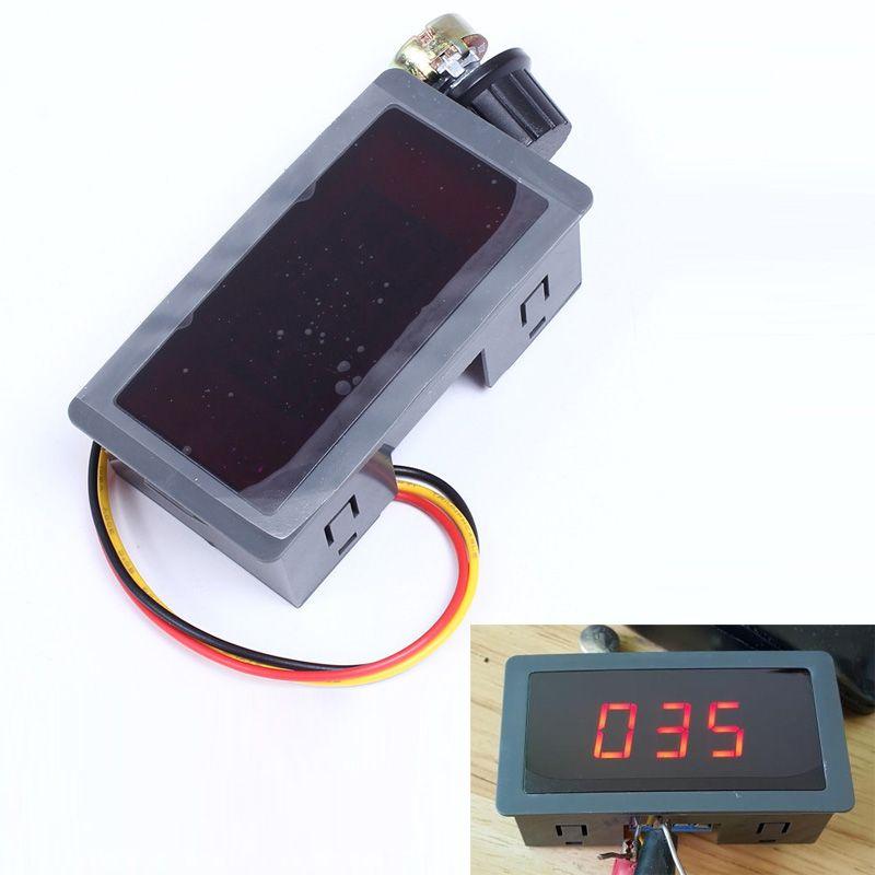 PWM DC Motor Speed Control Regulator LED Digital Display Stepless ...