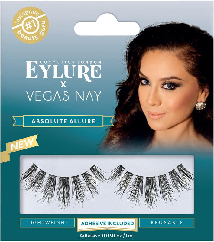 eae0a4707c1 We aren't saying these are magic but they will give your lashes magical  length! Eylure's Vegas Nay Absolute Allure Lashes are a fabulous, sectional  style ...
