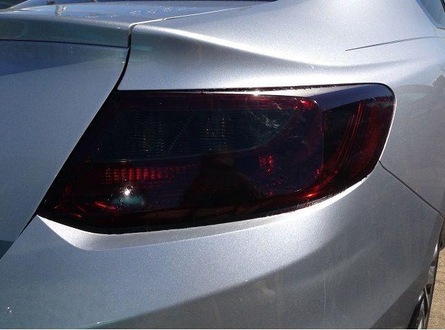 Precut Vinyl Tint Smoke Overlays For 13 15 Accord Coupe 2dr Tail Light Ebay Tail Light Accord Coupe Overlays