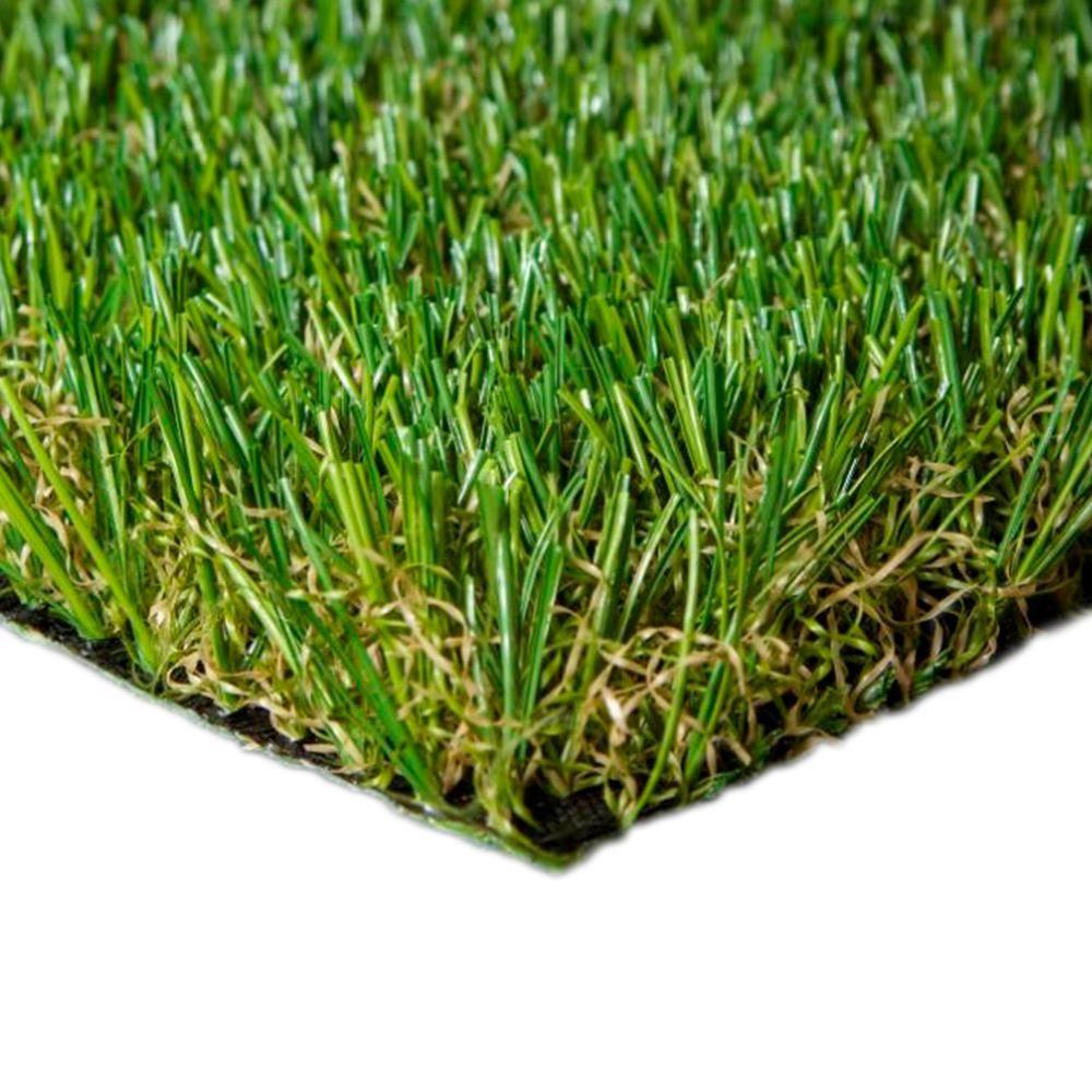 Trafficmaster Landscape 6 Ft X 7 5 Ft Artificial Grass Carpet Green In 2021 Artificial Grass Carpet Grass Carpet Artificial Grass Rug